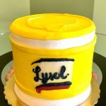 Lysol Wipes Layer Cake