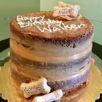 Pupcake Layer Cake - 8 Inch with Message