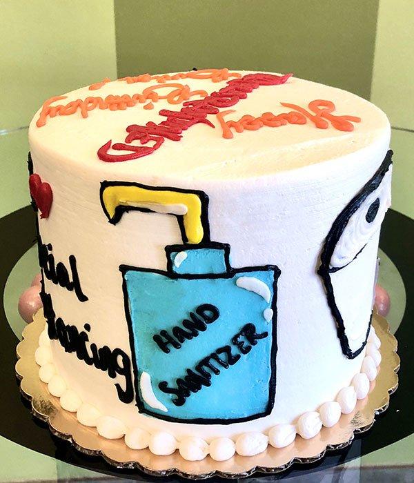 Quarantine Layer Cake Classy Girl Cupcakes