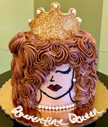 Quarantine Queen Layer Cake