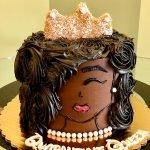 Quarantine Queen Layer Cake - Front