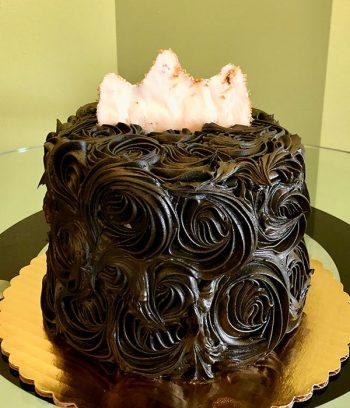 Quarantine Queen Layer Cake - Back