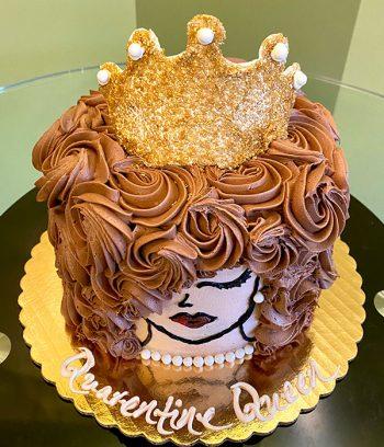 Quarantine Queen Layer Cake - Top
