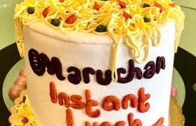Ramen Noodles Layer Cake
