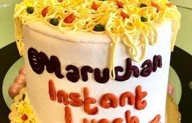 Ramen Noodles Layer Cake
