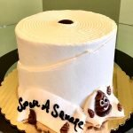 Toilet Paper Layer Cake - Front