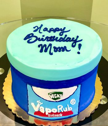 Vicks Vaporub Layer Cake - Top