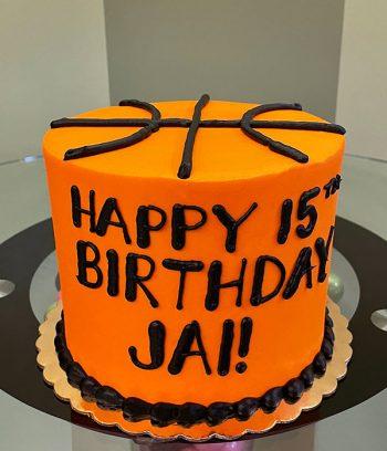 Basketball Layer Cake
