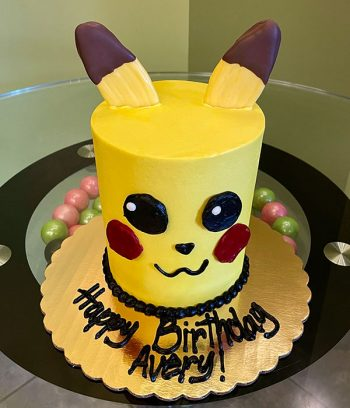 Pokémon Pikachu Layer Cake