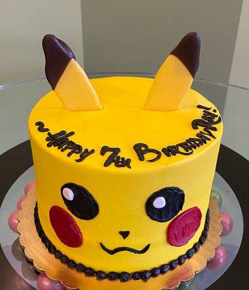 Pokémon Pikachu Layer Cake - Top