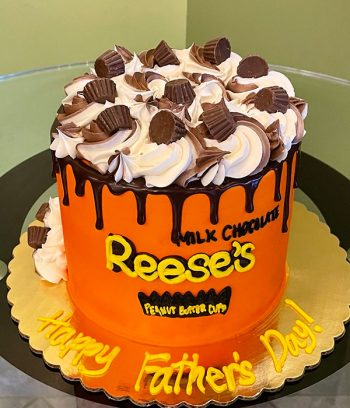 Reese's Peanut Butter Cup Layer Cake