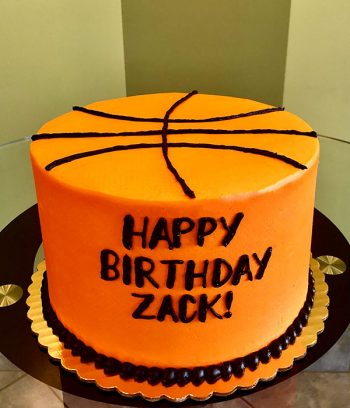Basketball Layer Cake
