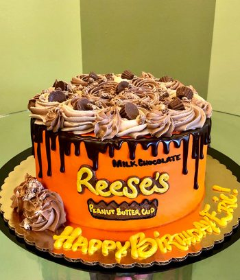Reese's Peanut Butter Cup Layer Cake - 8 Inch
