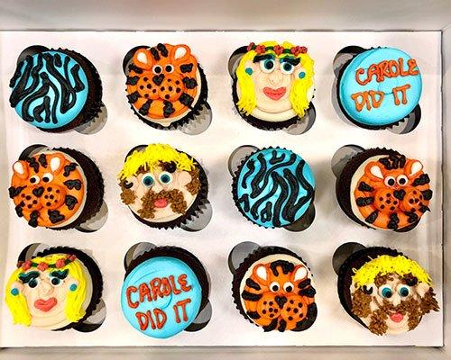 Tiger King Cupcakes