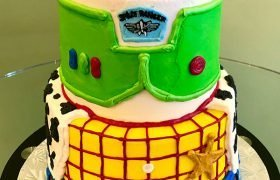 Toy Story Tiered Cake - Front