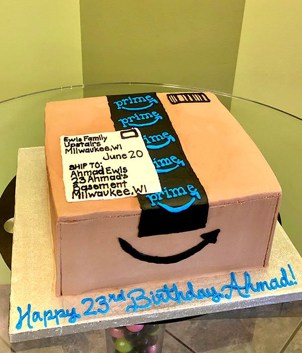 Amazon Box Layer Cake