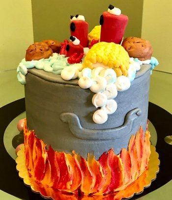 Crawfish Boil Layer Cake