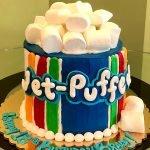 Jet-Puffed Marshmallow Layer Cake