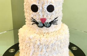 Kitty Cat Tiered Cake