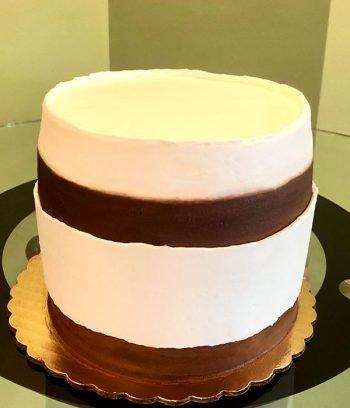 Nutella Layer Cake - Back