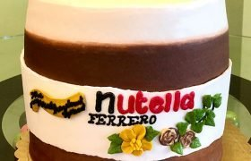 Nutella Layer Cake