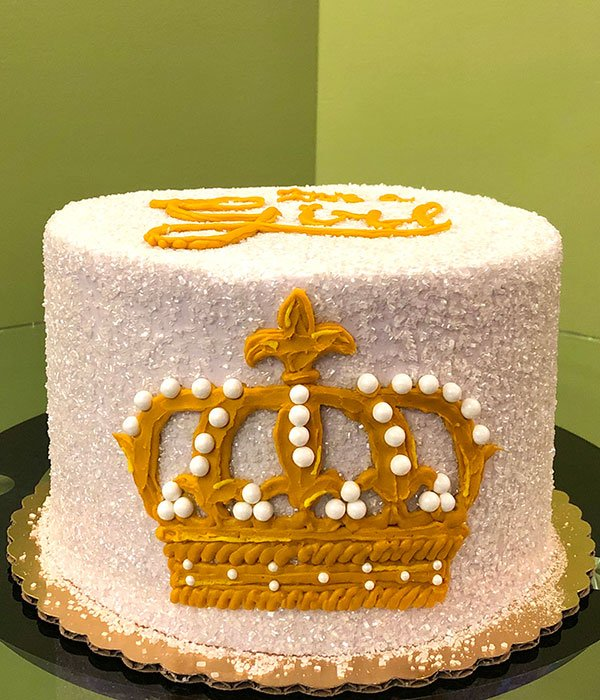 Crown Layer Cake - Side