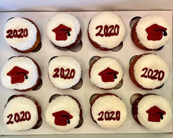Graduation Cupcakes - Red