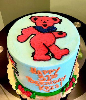 Grateful Dead Layer Cake - Top