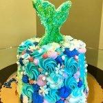 Mermaid Layer Cake