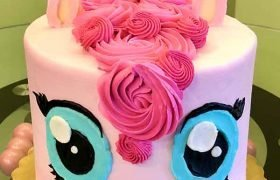 My Little Pony Layer Cake