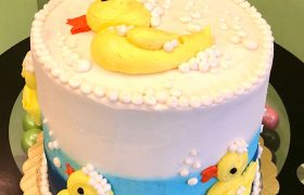 Rubber Ducky Layer Cake