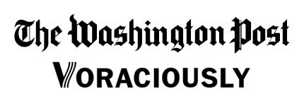 The Washington Post, Voraciously logo.