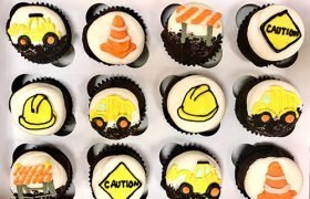 Construction Cupcakes
