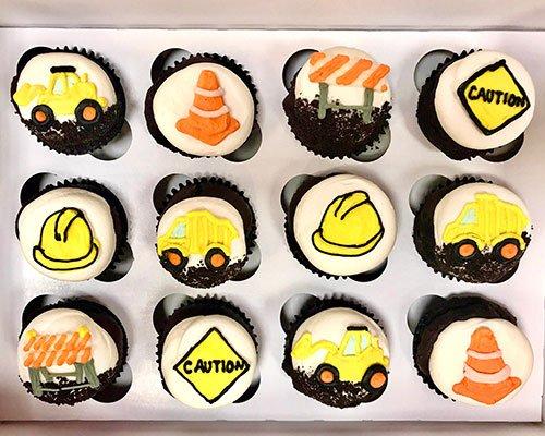Construction Cupcakes