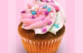 Unicorn Sparkle Cupcake