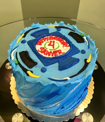 Beyblade Layer Cake - Top
