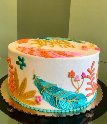 Feather Layer Cake - Side