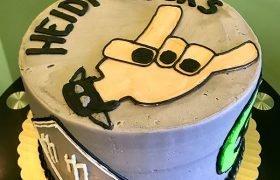 Heavy Metal Layer Cake - Top