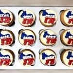 Political Cupcakes - Democrat Donkey