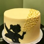 Tinker Bell Layer Cake - Yellow