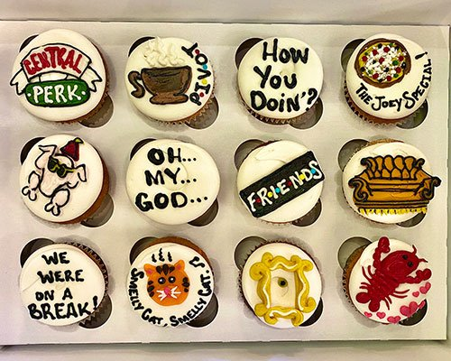 Friends Cupcakes