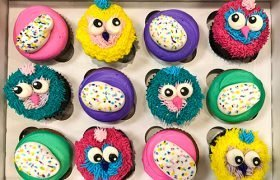 Hatchimals Cupcakes