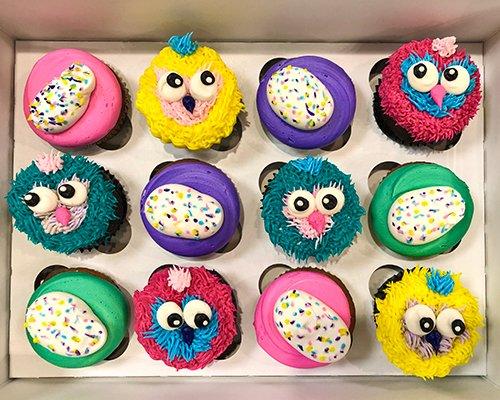 Hatchimals Cupcakes