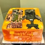 Minecraft Character Layer Cake - Top