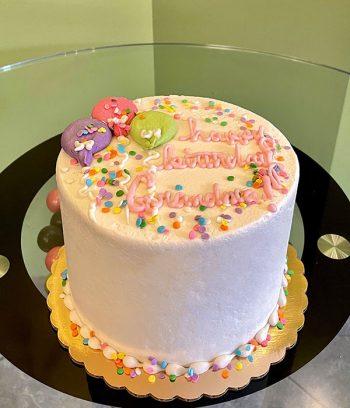 Birthday Balloon Layer Cake