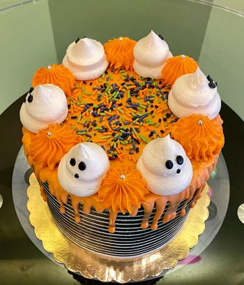 Halloween Layer Cake - Top