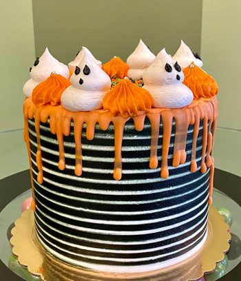 Halloween Layer Cake - Side