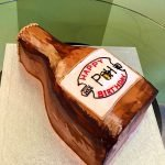 Beer Bottle Shaped Cake