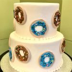 Donut Tiered Cake