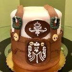 Oktoberfest Lederhosen Layer Cake